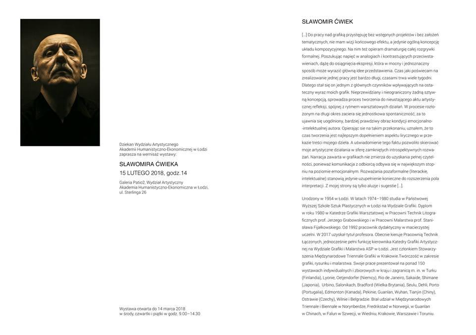Wernisaż wystawy w Galerii Patio2