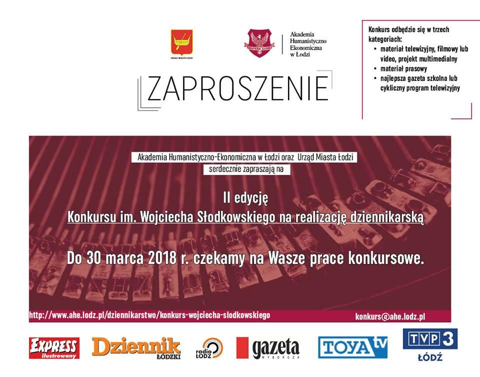 II edycja konkursu im. W. Słodkowskiego