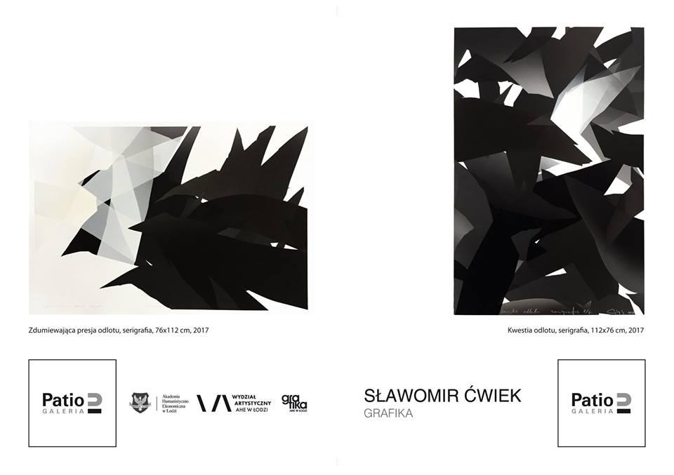 Wernisaż wystawy Słowomira Ćwieka w Galerii Patio2