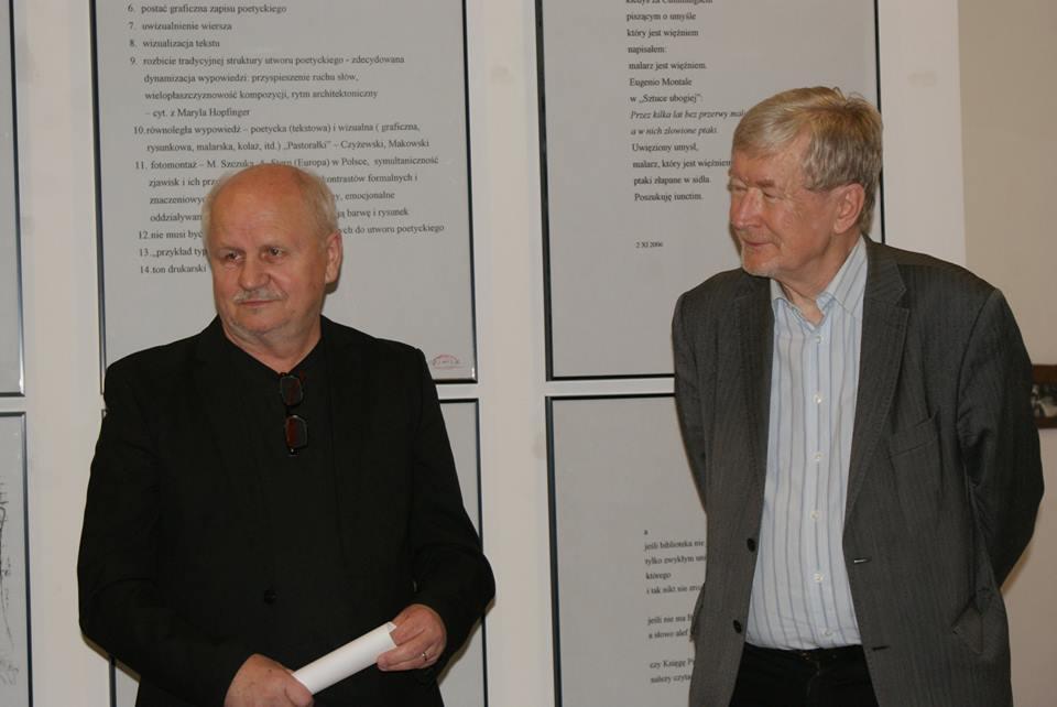 prof. Andrzej Marian Bartczak oraz prof.  Andrzej de Lazari Rektor AHE