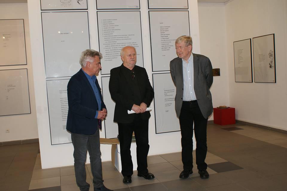Prof. Andrzej de Lazari Rektor AHE, prof. Andrzej Marian Bartczak oraz dr hab. prof. AHE Włodzimierz Stelmaszczyk