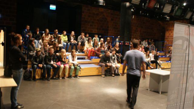 studio filmowe w szkole