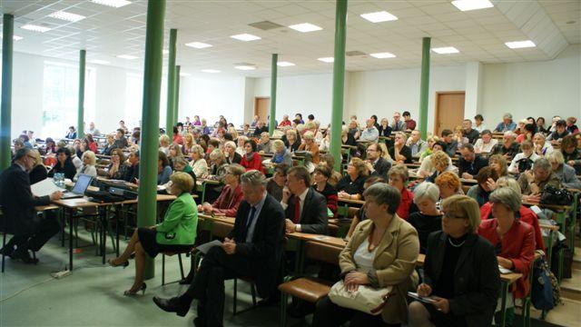 uczestnicy konferencji naukowej