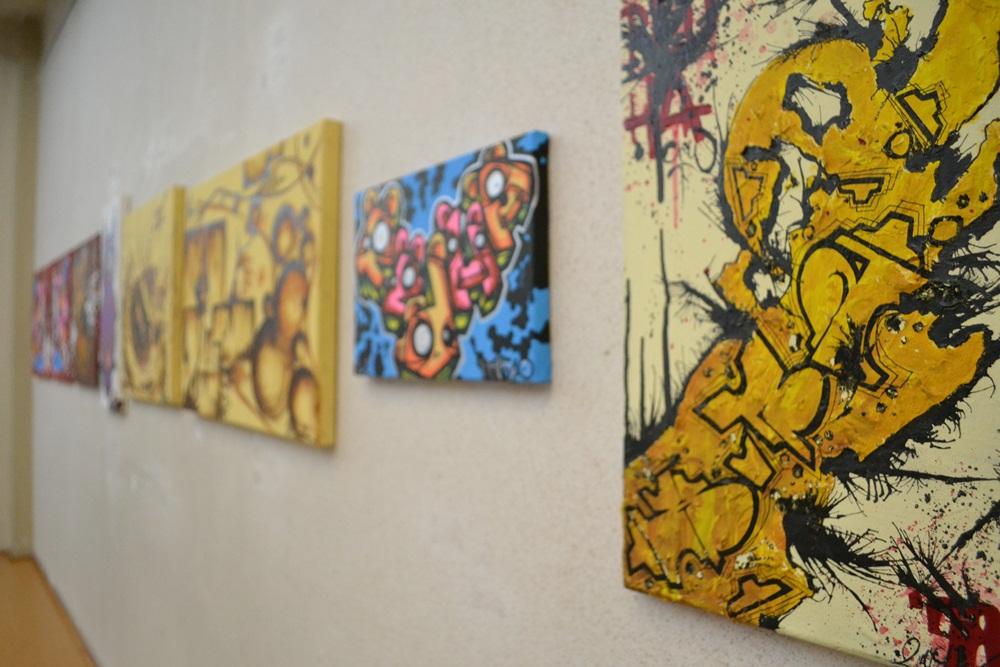 Wystawa organizowana przez studentów kulturoznawstwa