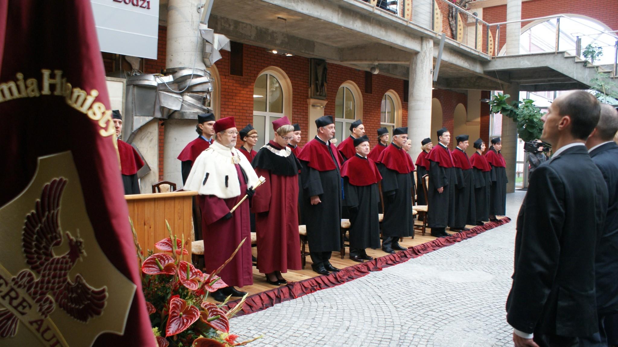Inauguracja Roku Akademickiego - Patio 2