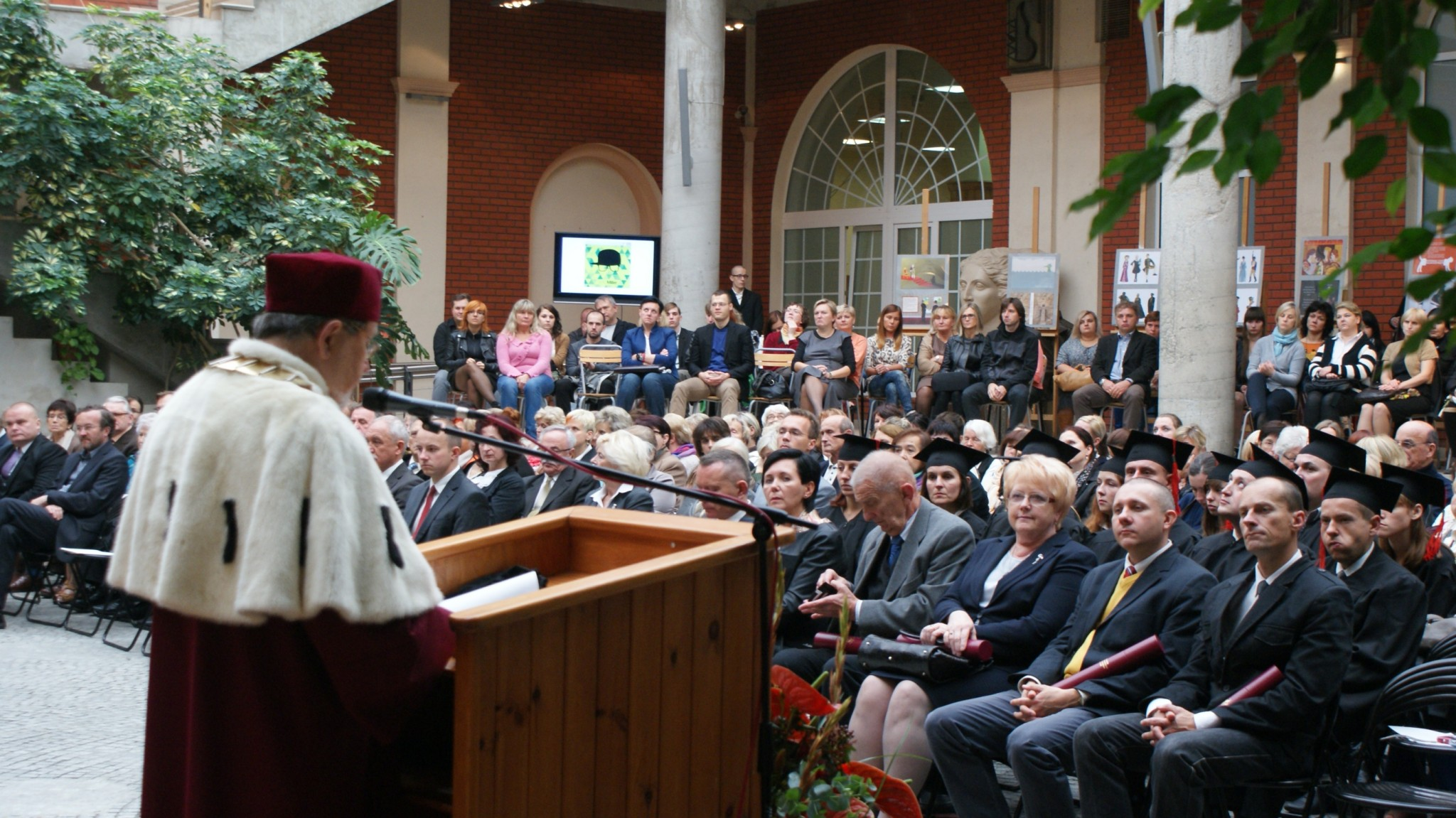 Przemówienie JM Rektora prof. dr hab. inż. Andrzeja Lecha Koszmidera 2