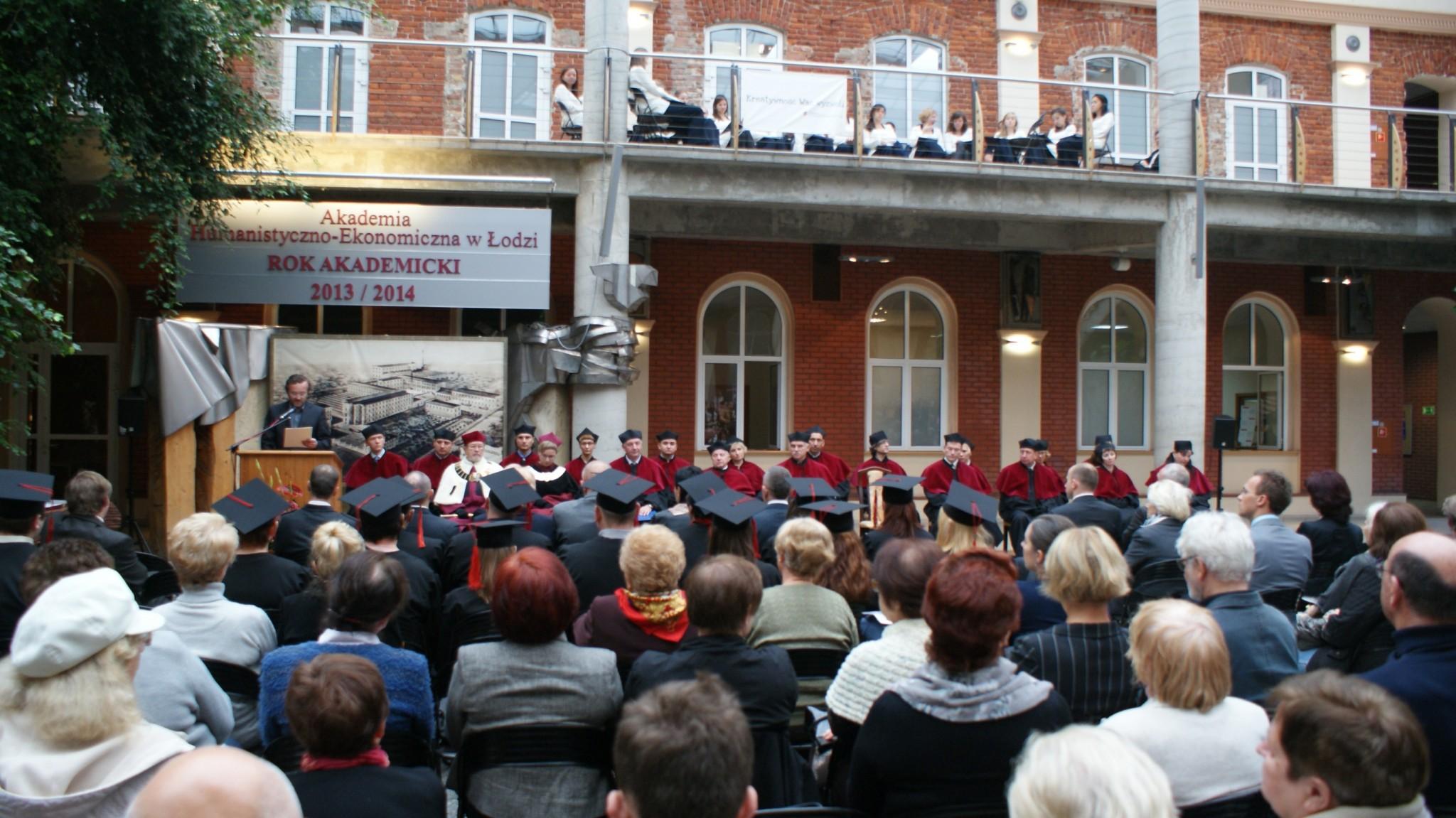 Inauguracja Roku Akademickiego - Patio 7