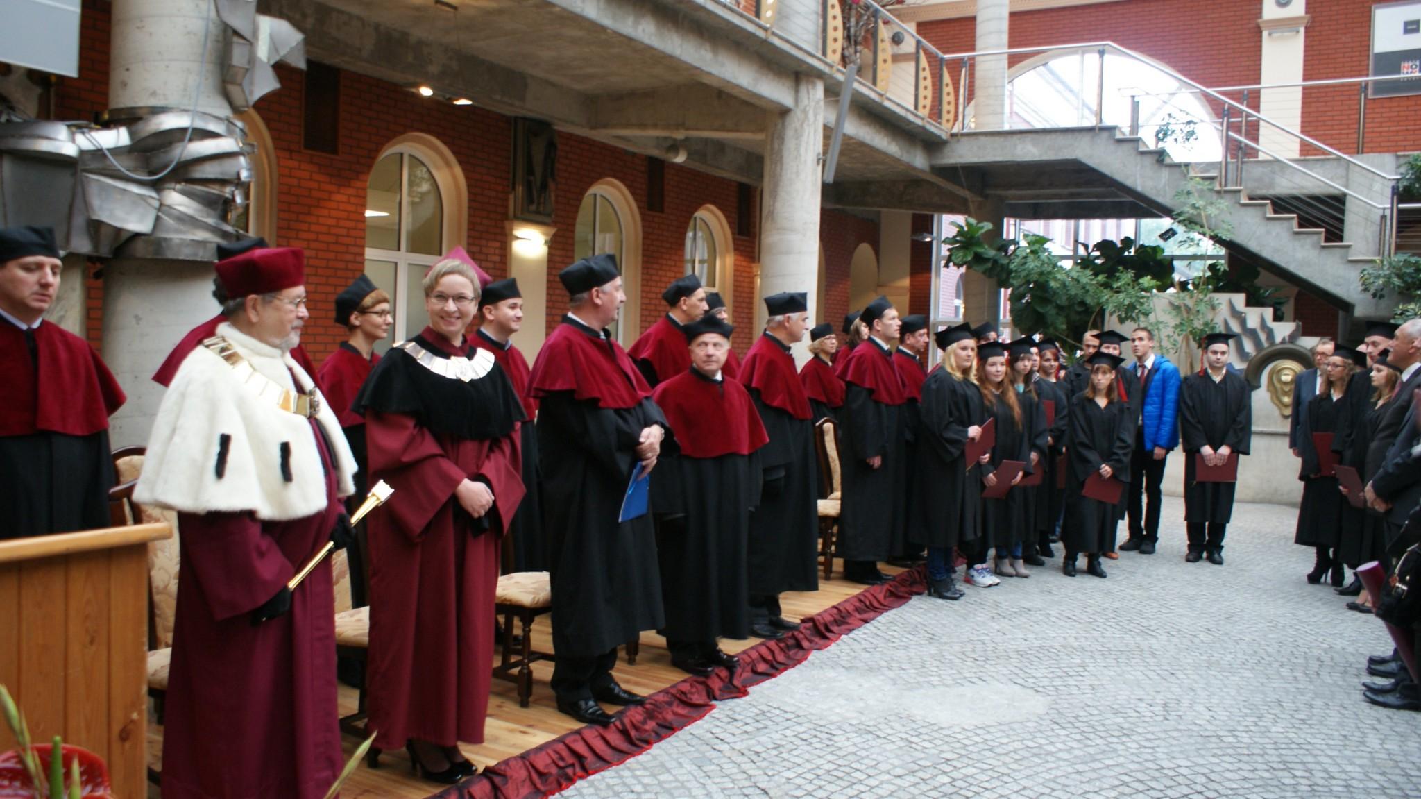Inauguracja Roku Akademickiego - Patio 9
