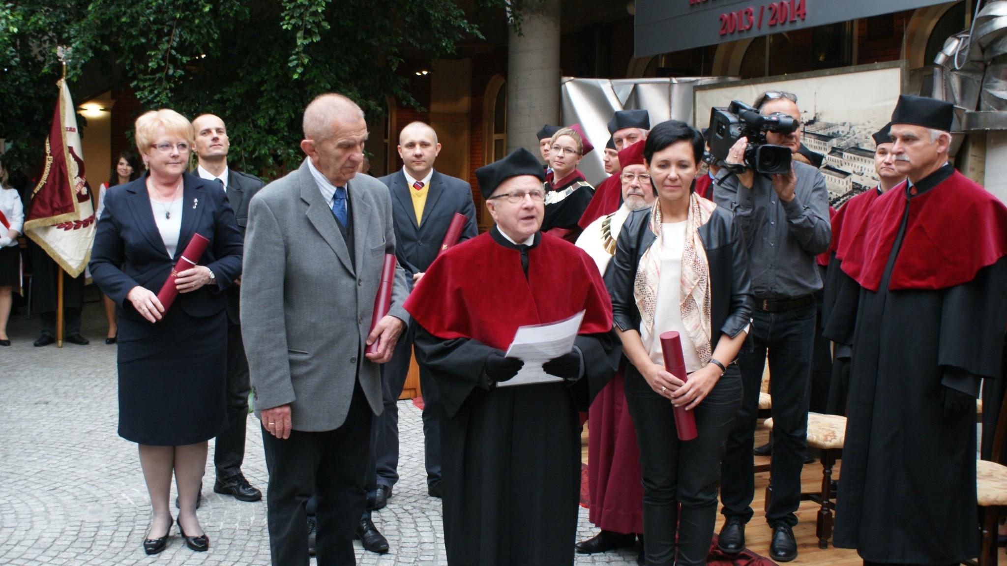Inauguracja Roku Akademickiego - Patio 11