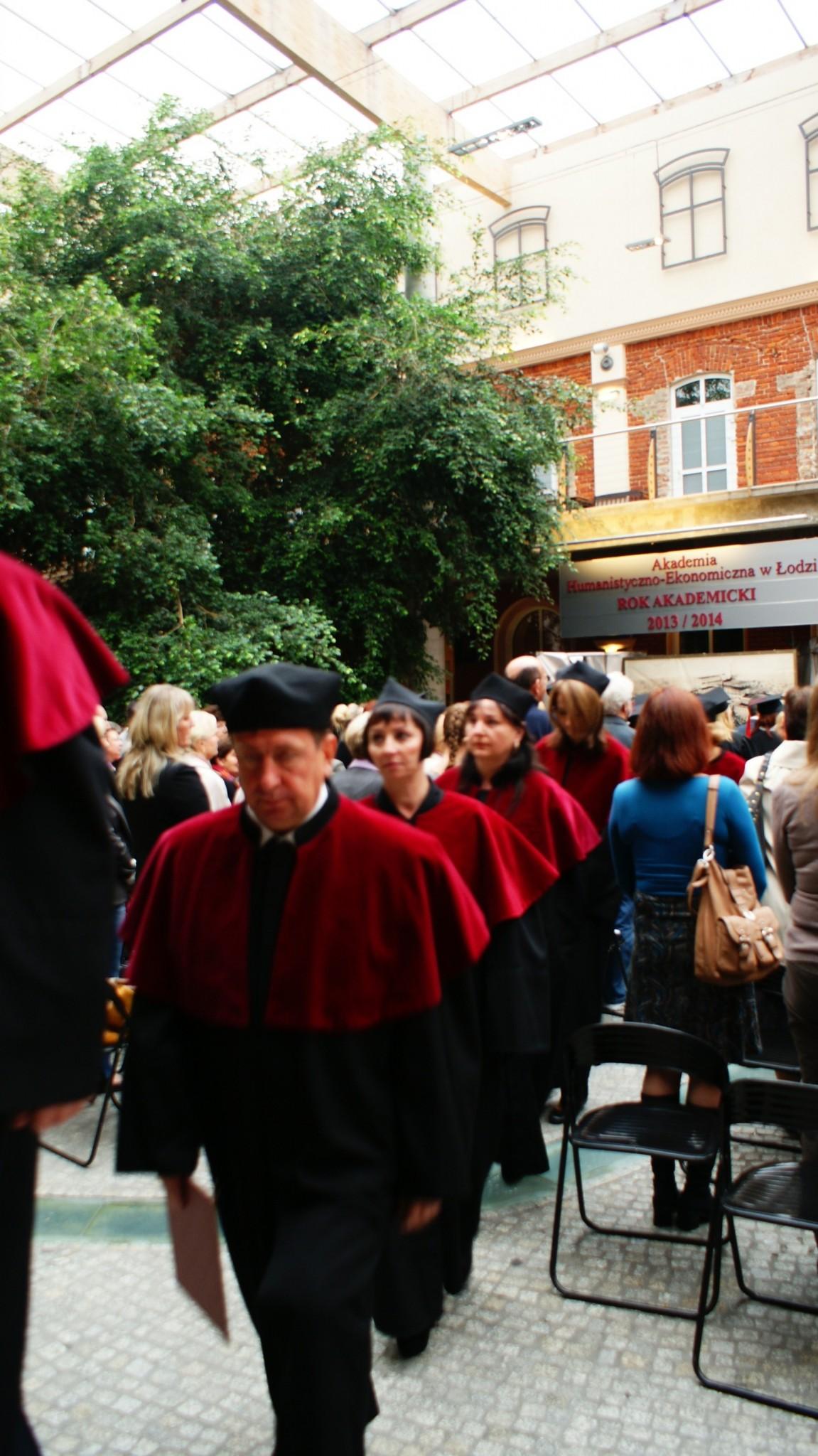 Inauguracja Roku Akademickiego - Patio 24