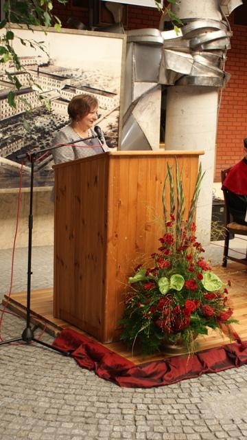 Przemówienie Elżbiety Paciejewskiej-Stolarz Dyrektor Wojewózkiego Ośrodka Doskonalenia Nauczycieli