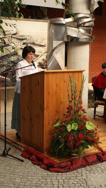 Wystąpienie Anny Koludo przedstawicielki Łódzkiego Centrum Doskonalenia Nauczycieli i Kształcenia Praktycznego