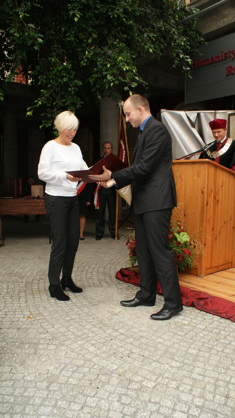 Wręczenie nagród pracownikom administracyjnym