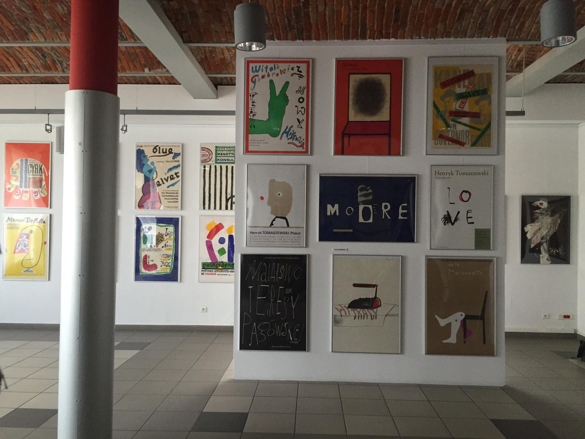 """Wystawa """"Ikony plakatu polskiego' w AHE w Łodzi"""