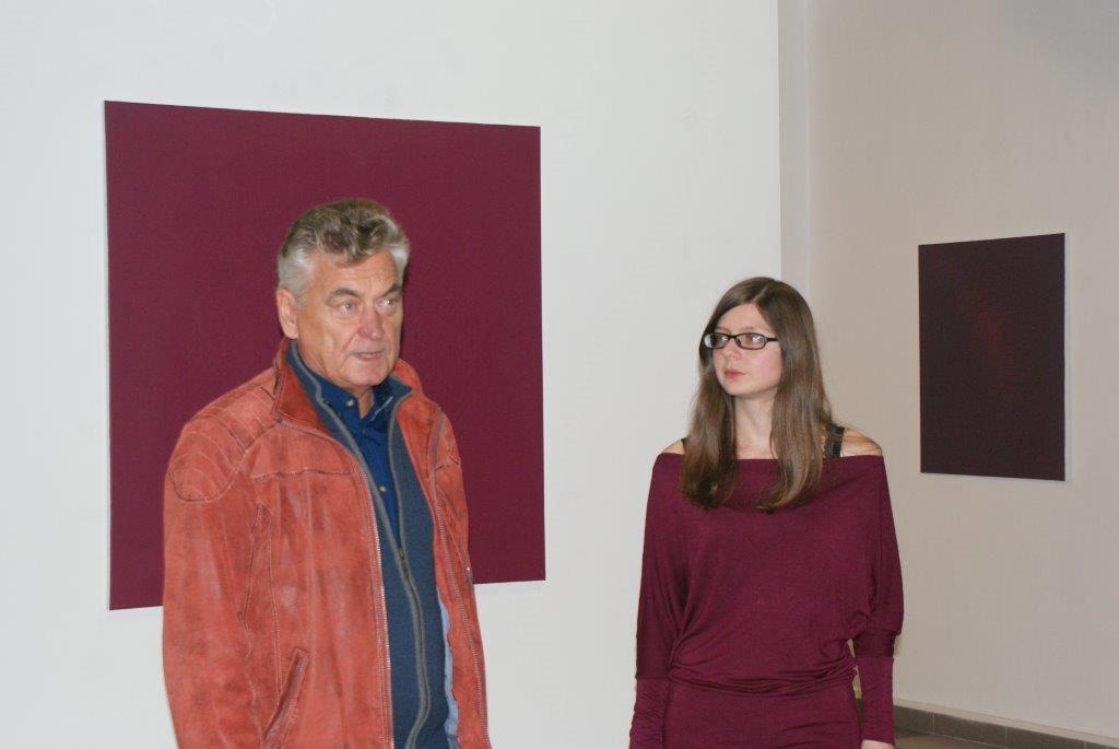"""dr Olga Ząbroń - indywidualna wystawa malarstwa """"en."""""""