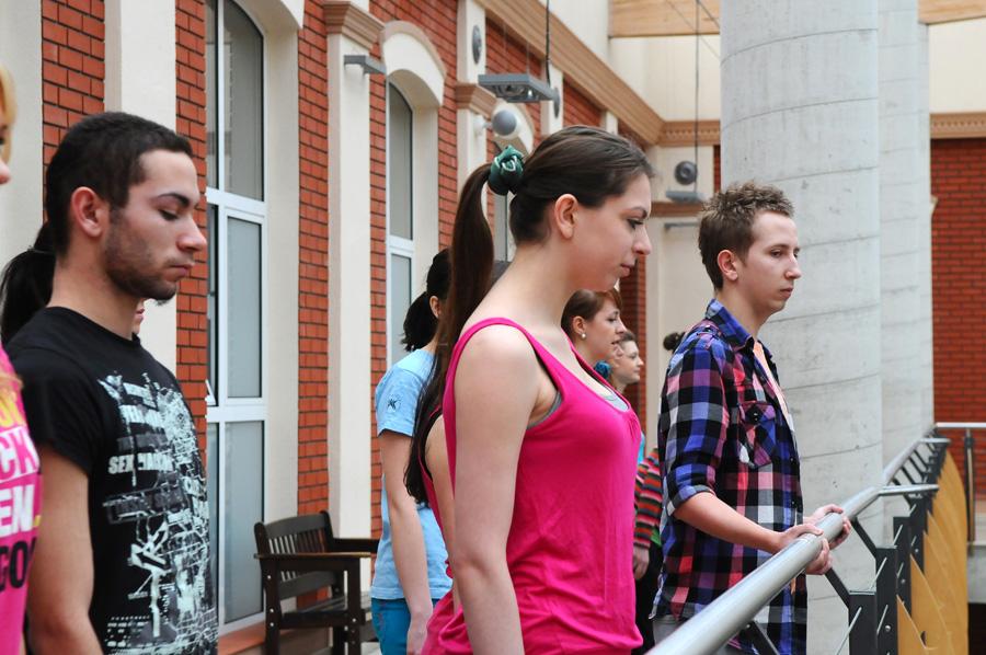 Występ studentów Tańca w AHE