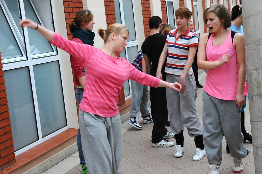 Występ studentów kierunku Taniec w AHE w Łodzi