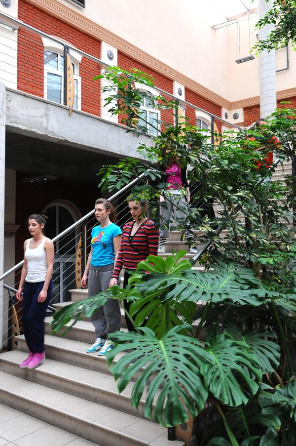 Studenci kierunku Taniec w AHE w Łodzi