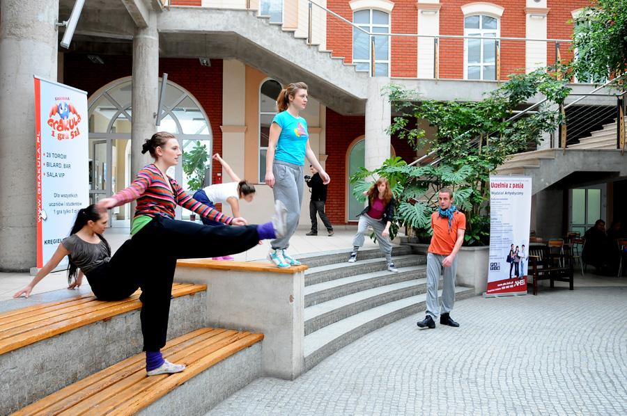 Performance studentów AHE w Łodzi