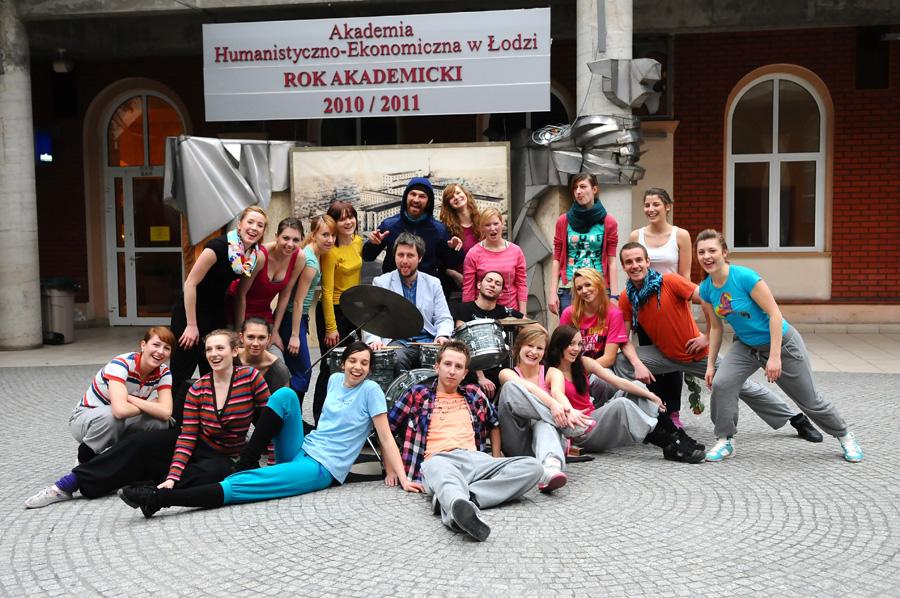 Tancerze AHE w Łodzi