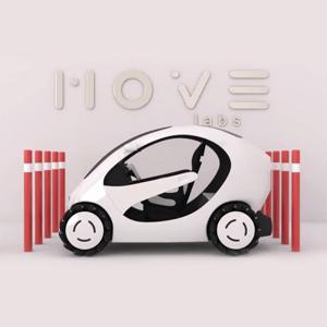 Damian Podeszwa - Projekt samochodu miejskiego MOVE