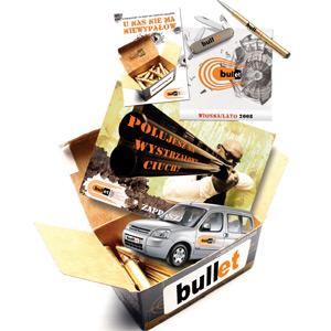 """Robert Kołodziejczyk - Projekt Systemu Identyfikacji Graficznej Dla Firmy """"Bullet"""""""