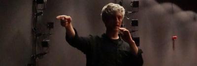 "dr Alexandr Azarkevitch, prof. AHE choreografem ""Calineczki"""