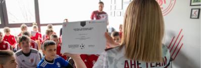 "Projekt studentów – ""Be and Talk like Beckham!"""