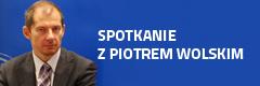 Piotr Wolski, attaché prasowy w Biurze Kontaktowym UE gościem AHE