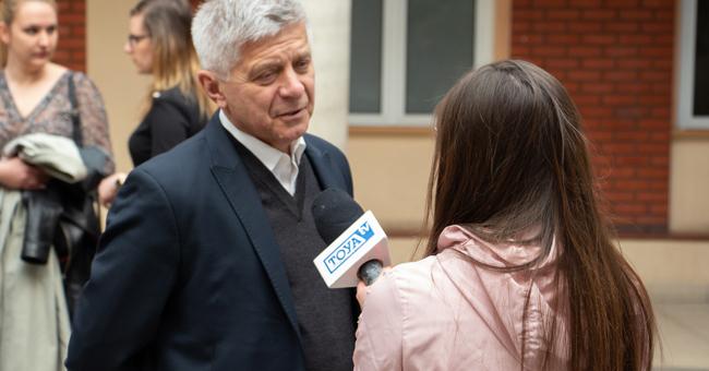 Spotkanie z prof. Markiem Belką na Patio AHE