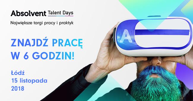 Absolvent Talent Days w Łodzi (EXPO Łódź)