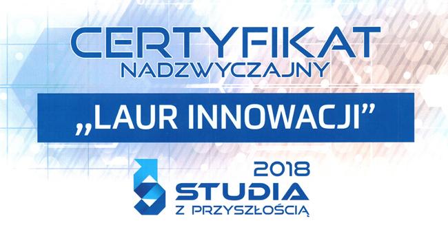 Kulturoznawstwo - Laur Innowacyjności