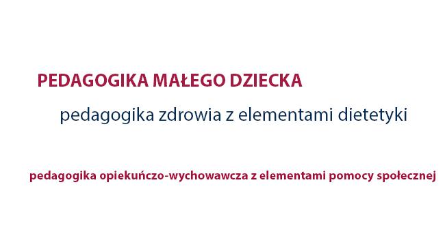 pedagogika Jasło - specjalności