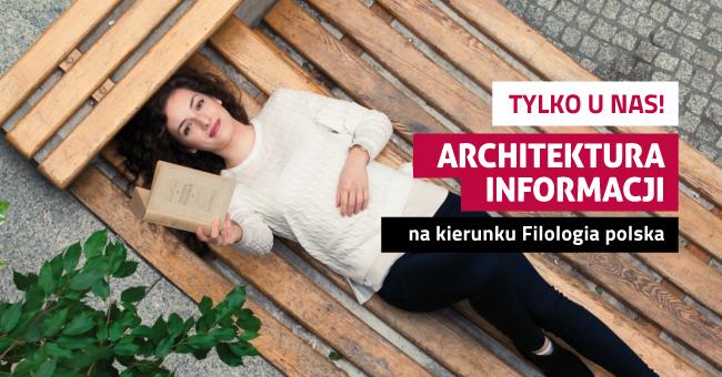 Kreatywnie zarządzaj informacją. Zostań nowoczesnym filologiem z dyplomem architekta i ... zarabiaj jak architekt.