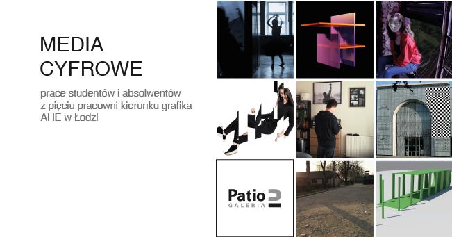 Wystawa studentów grafiki w Galerii Patio2