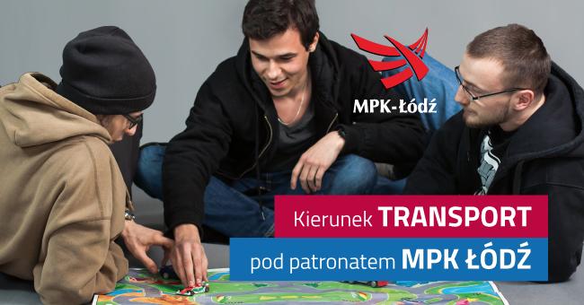 kierunek transport pod patronatem MPK Łódź