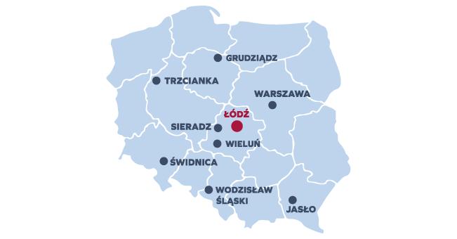 Studiuj w Łodzi lub w jednej z naszych Filii