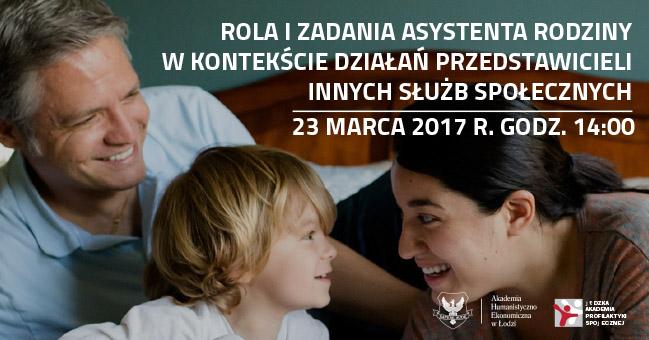 Konferencja rola i zadania asystenta rodziny
