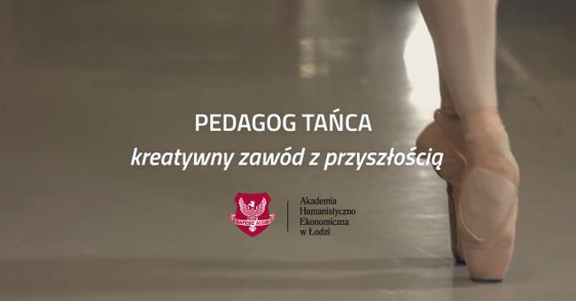 Pedagog tańca to kreatywny zawód z przyszłością!
