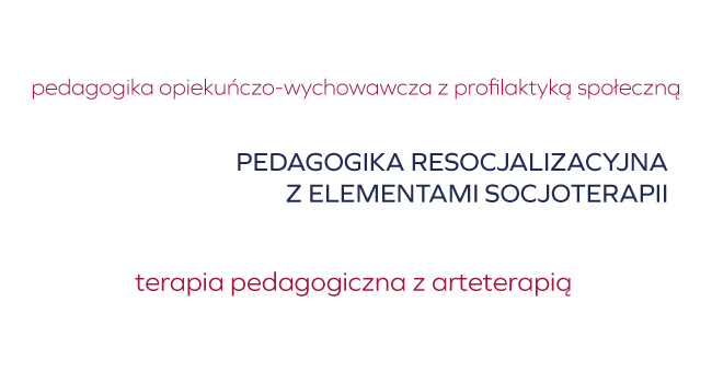 specjalności pedagogika - Sieradz