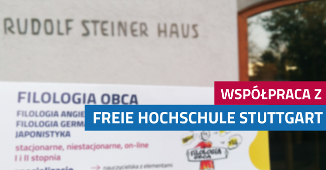 Umowa partnerska z Freie Hochschule Stuttgart