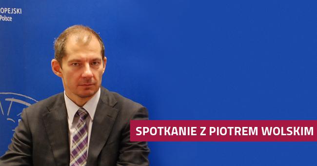 Spotkanie z Piotrem Wolskim