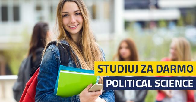 Studiuj bezpłatnie politologię w języku angielskim