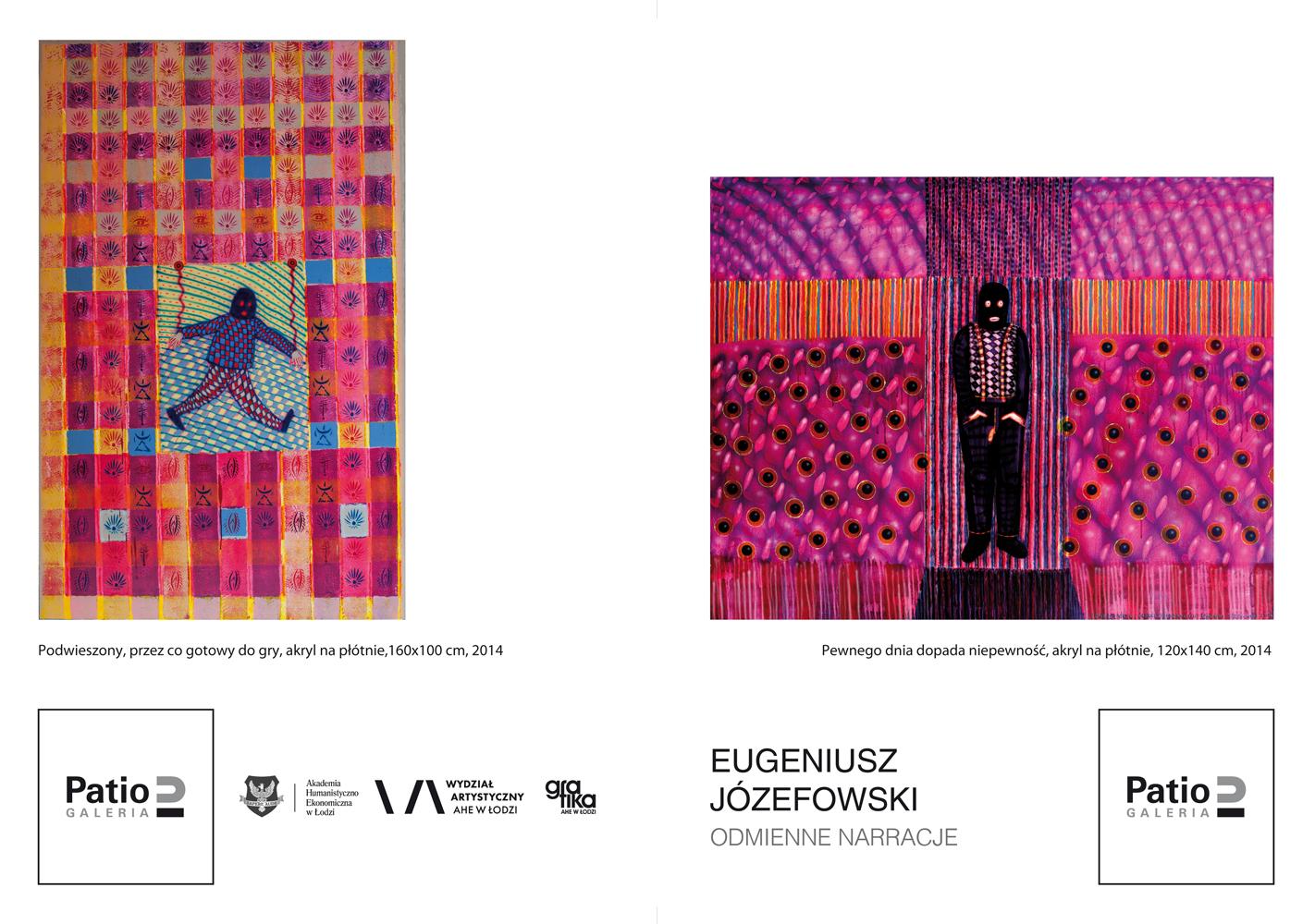 Wernisaż wystawy Eugeniusza Józefowskiego w Galerii Patio2