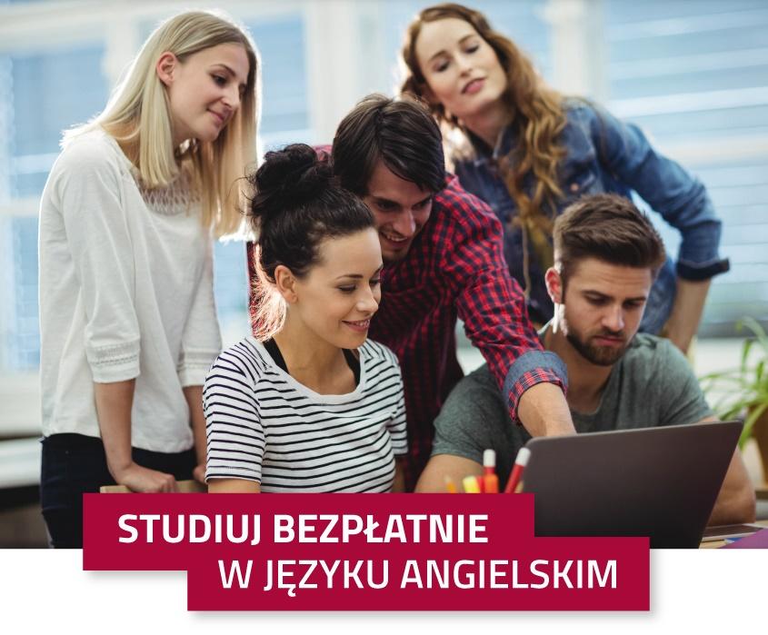 bezpłatne studia w języku angielskim w AHE w Łodzi