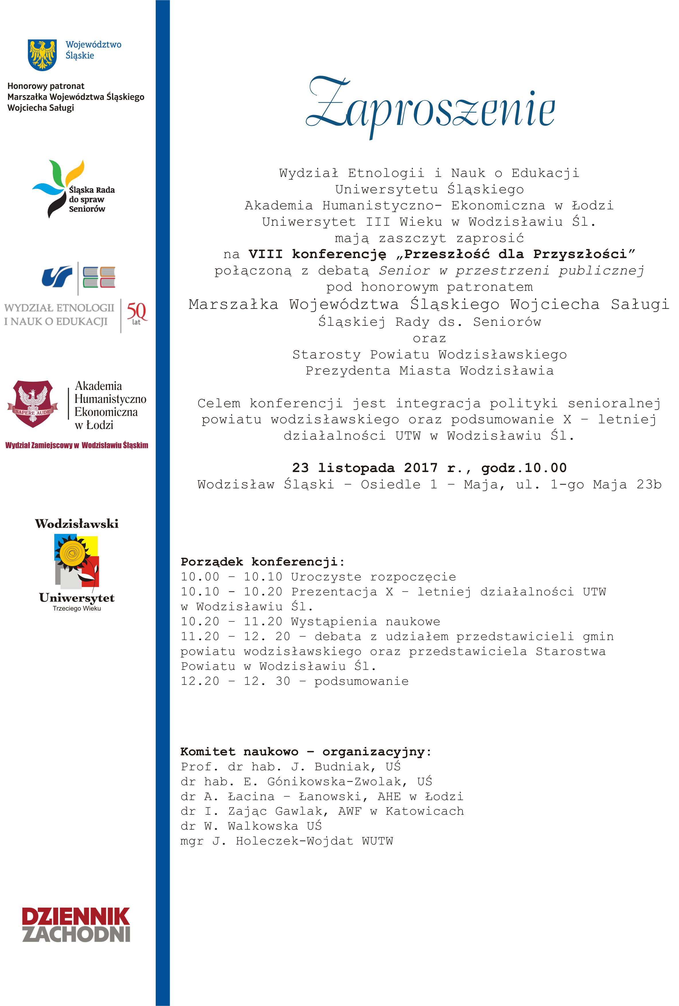 konferencja WZ AHE Wodzisław Ślaski
